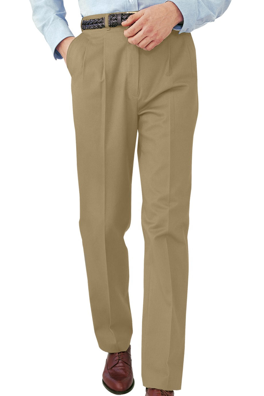 Edwards Garment 2630 - Men's All Cotton Pleated Pant