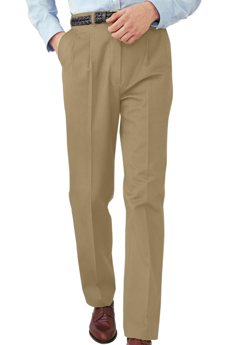 046cd0bcb48 Edwards Garment 2630 - Men s All Cotton Pleated Pant