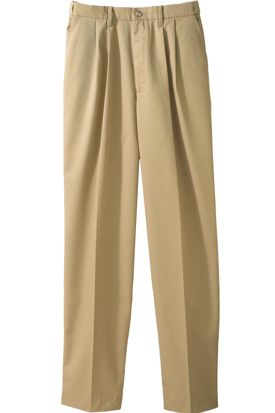 Edwards Garment 2678 - Men's Easy Fit Chino Pleated Pant