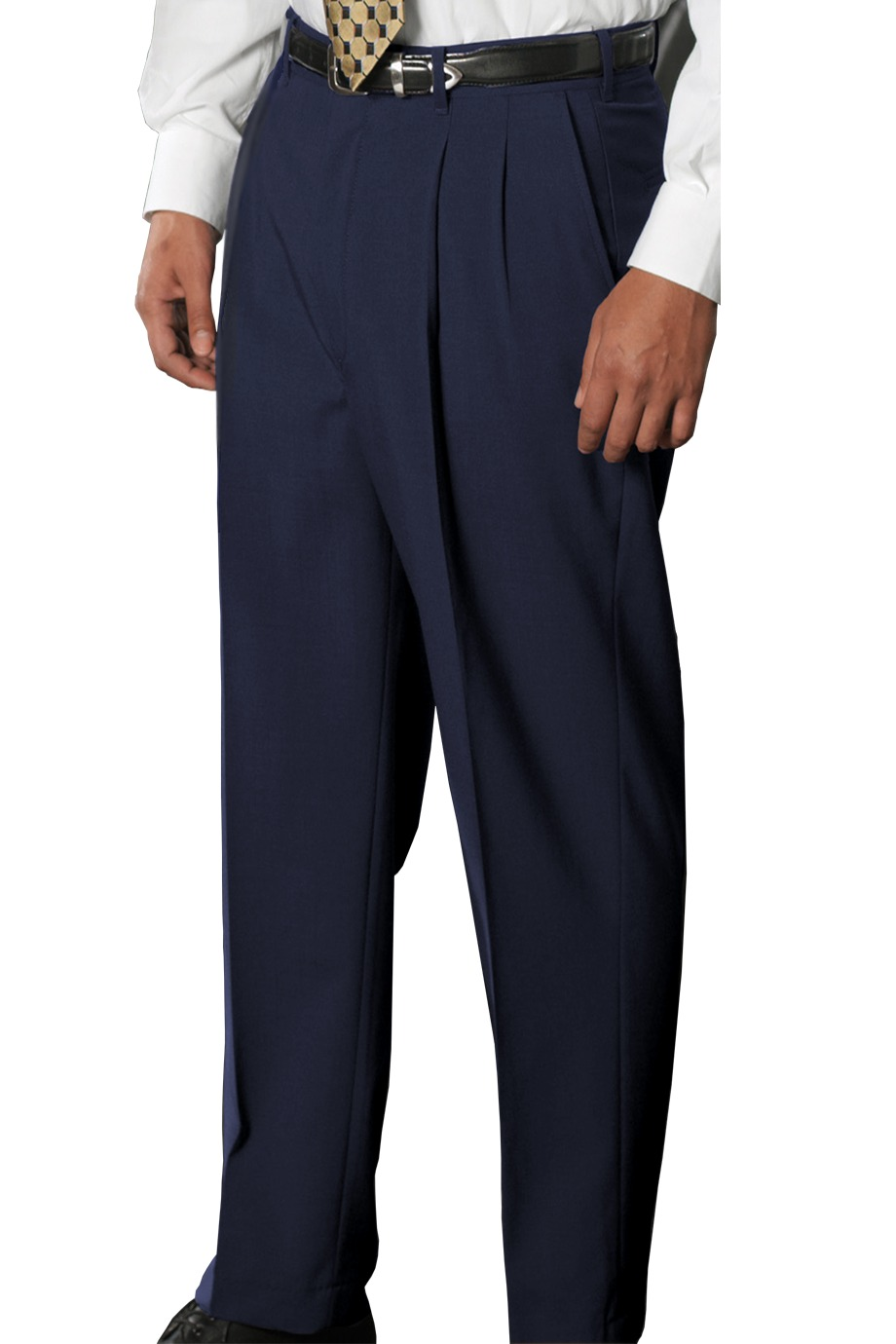 Edwards Garment 2680 - Men's Wool Blend Pleated Dress Pant