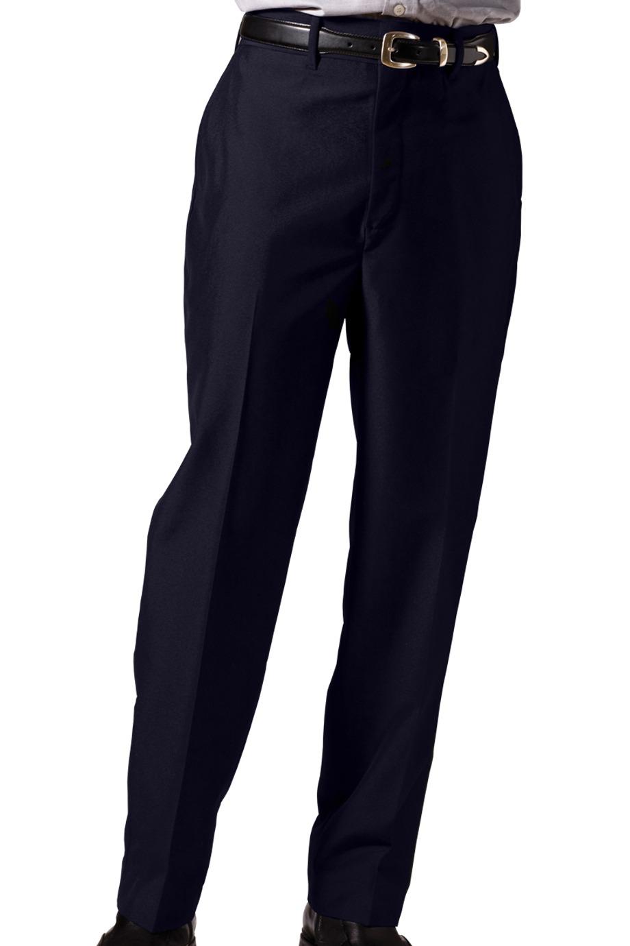 Edwards Garment 2750 - Men's Lightweight Wool Blend Flat Front Pant