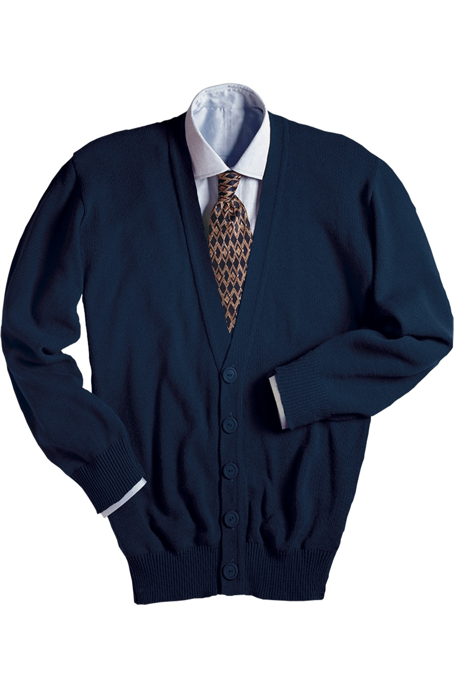 Edwards Garment 351 - V-Neck Cardigan