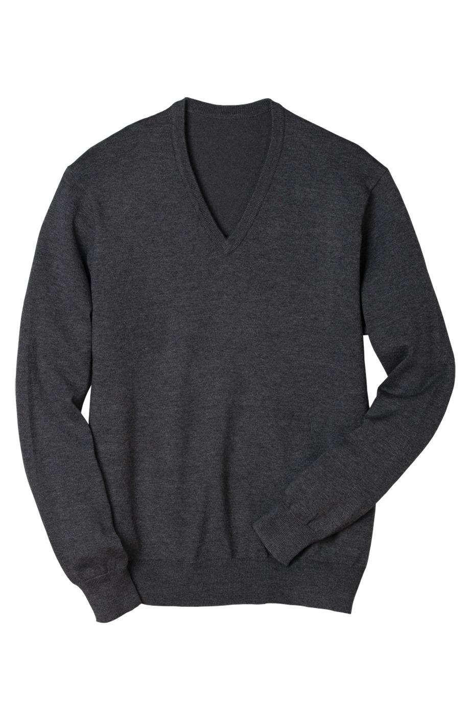 Edwards Garment 4070 - V-Neck Fine Gauge