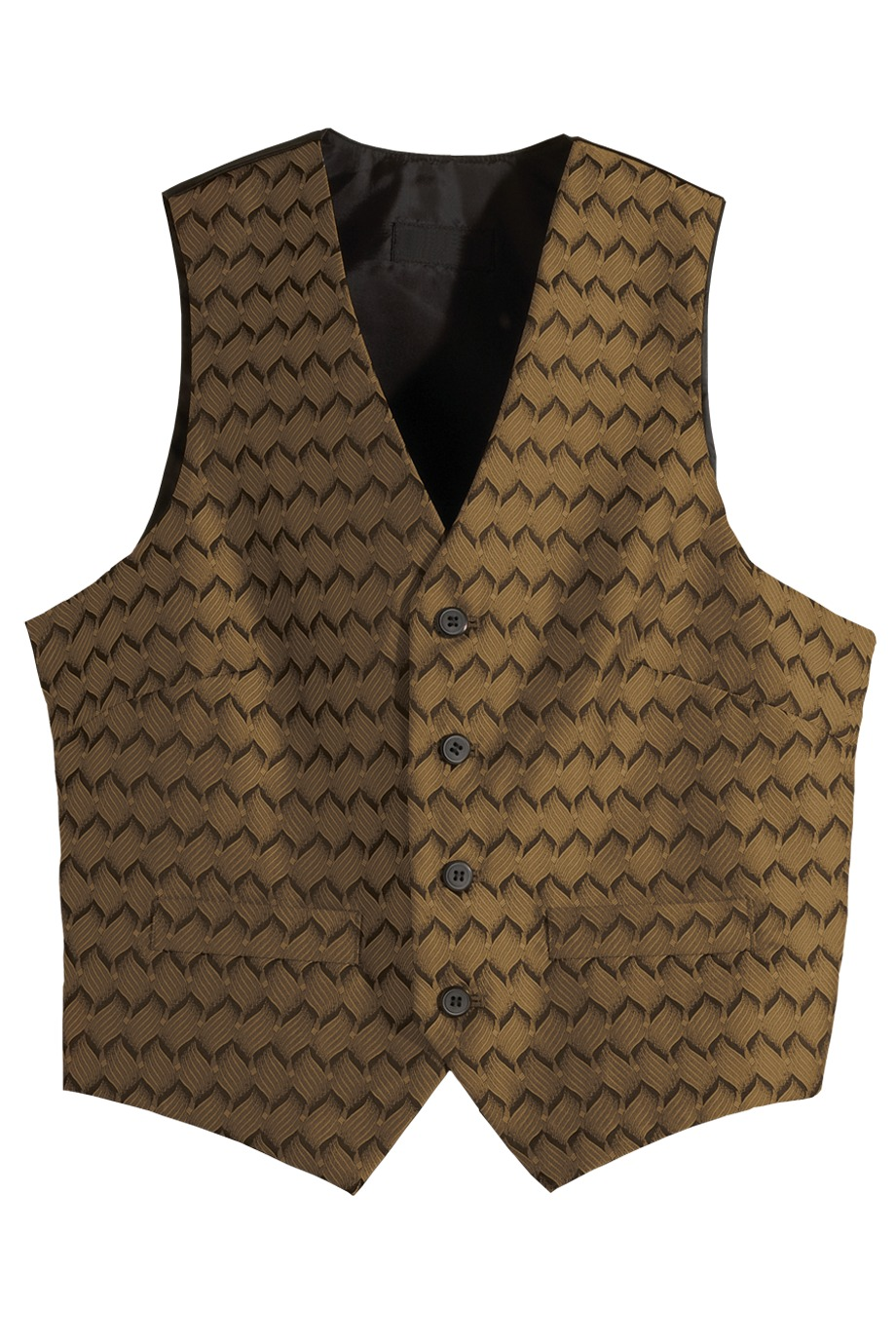 Edwards Garment 4391 - Men's Swirl Brocade Vest