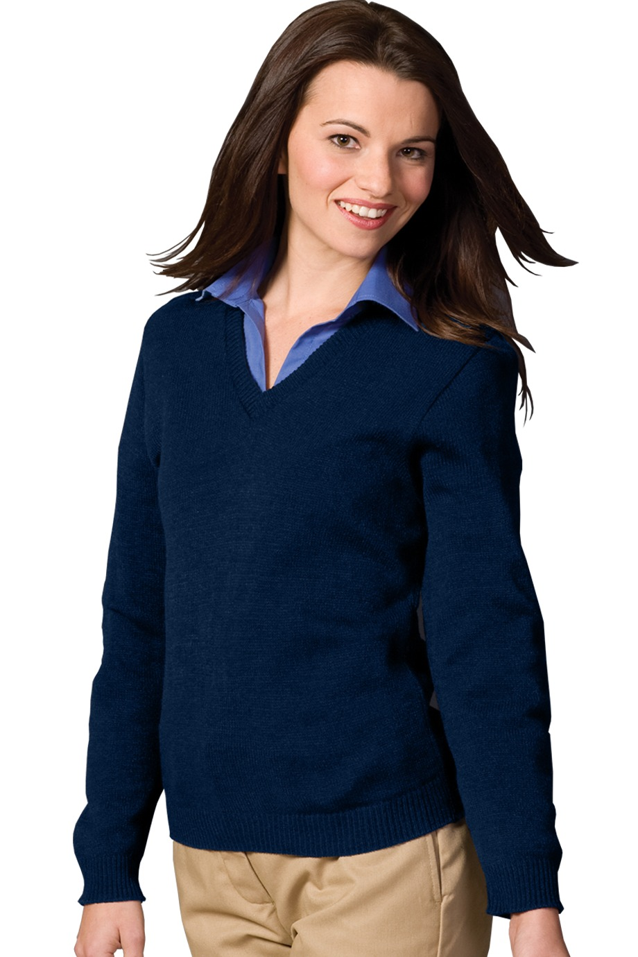 Edwards Garment 465 - Women's V-Neck Sweater