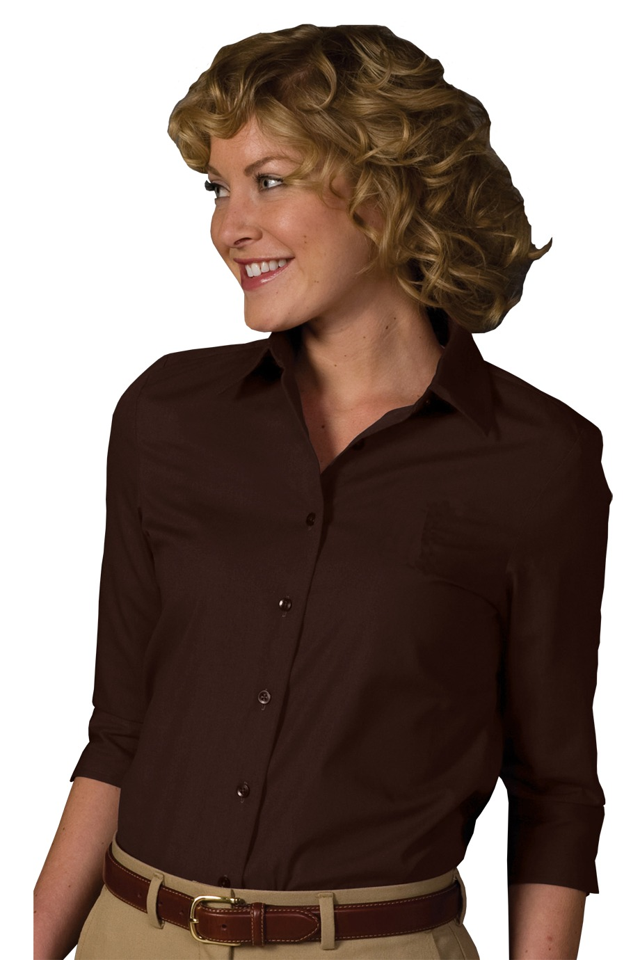 Edwards Garment 5037 - Three Quarter Sleeve Shirt