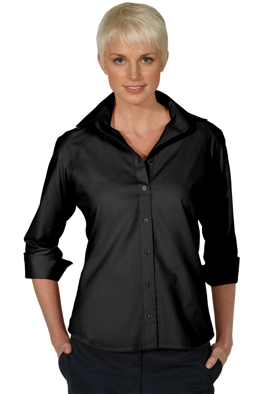 Edwards Garment 5040 - Three Quarter Sleeve Blouse