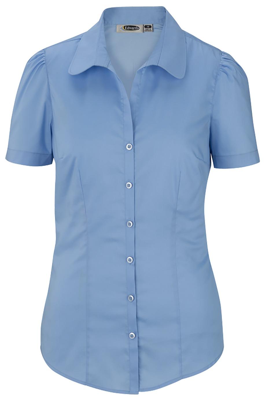 Edwards Garment 5046 - Open Neck Stretch