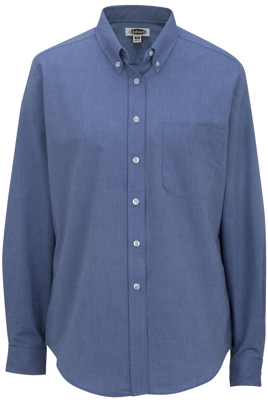 Edwards Garment 5077 - Women's Long Sleeve Dress Button ...