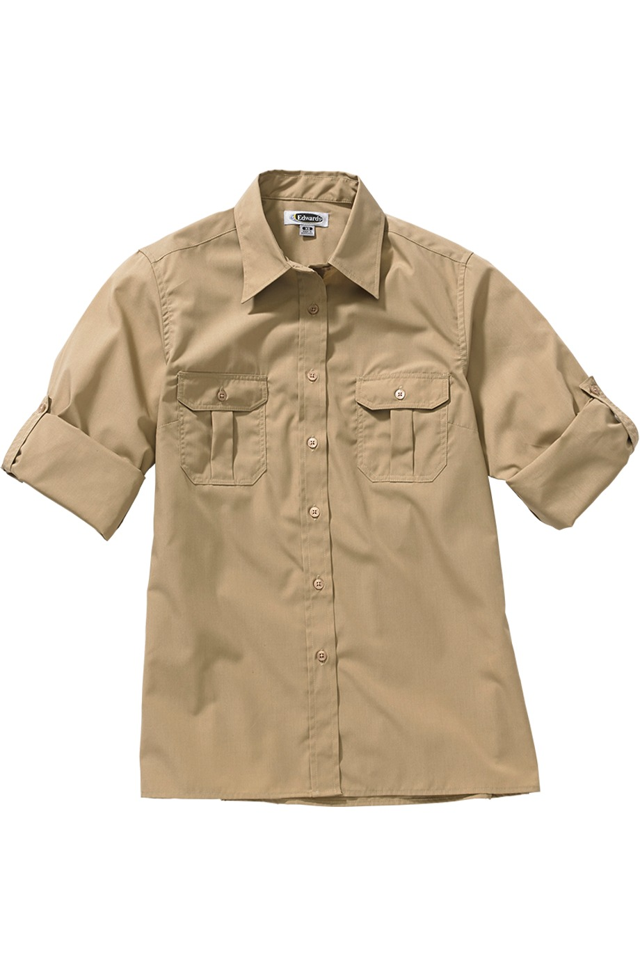4794125c Edwards Garment 1288 - Roll Up Long Sleeve Shirt $26.40 - Men's ...