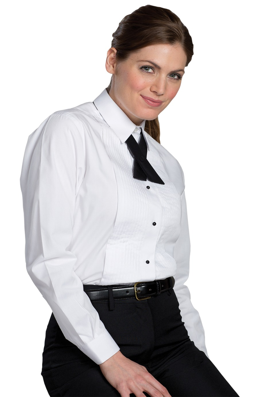 Edwards Garment 5393 - Women's Tuxedo Shirt Quarter ...