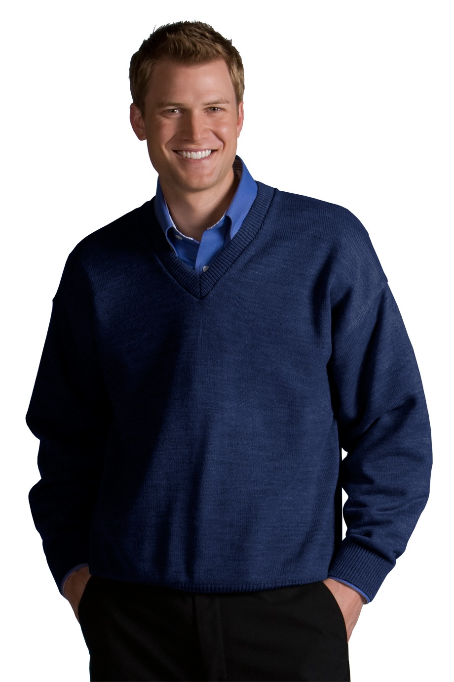 Edwards Garment 565 - V-Neck Sweater
