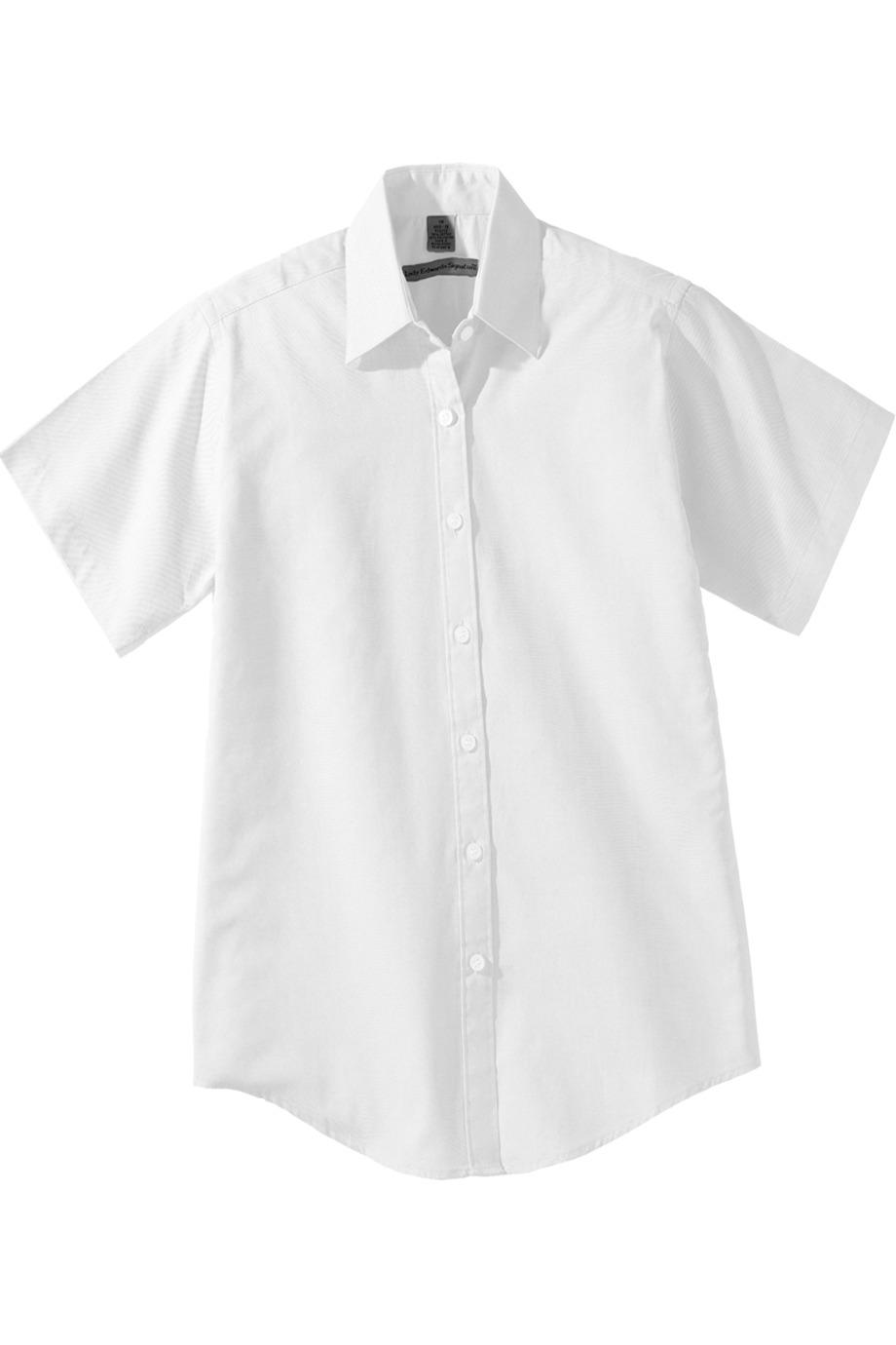 Edwards Garment 5925 女士短袖牛津布衬衣T恤