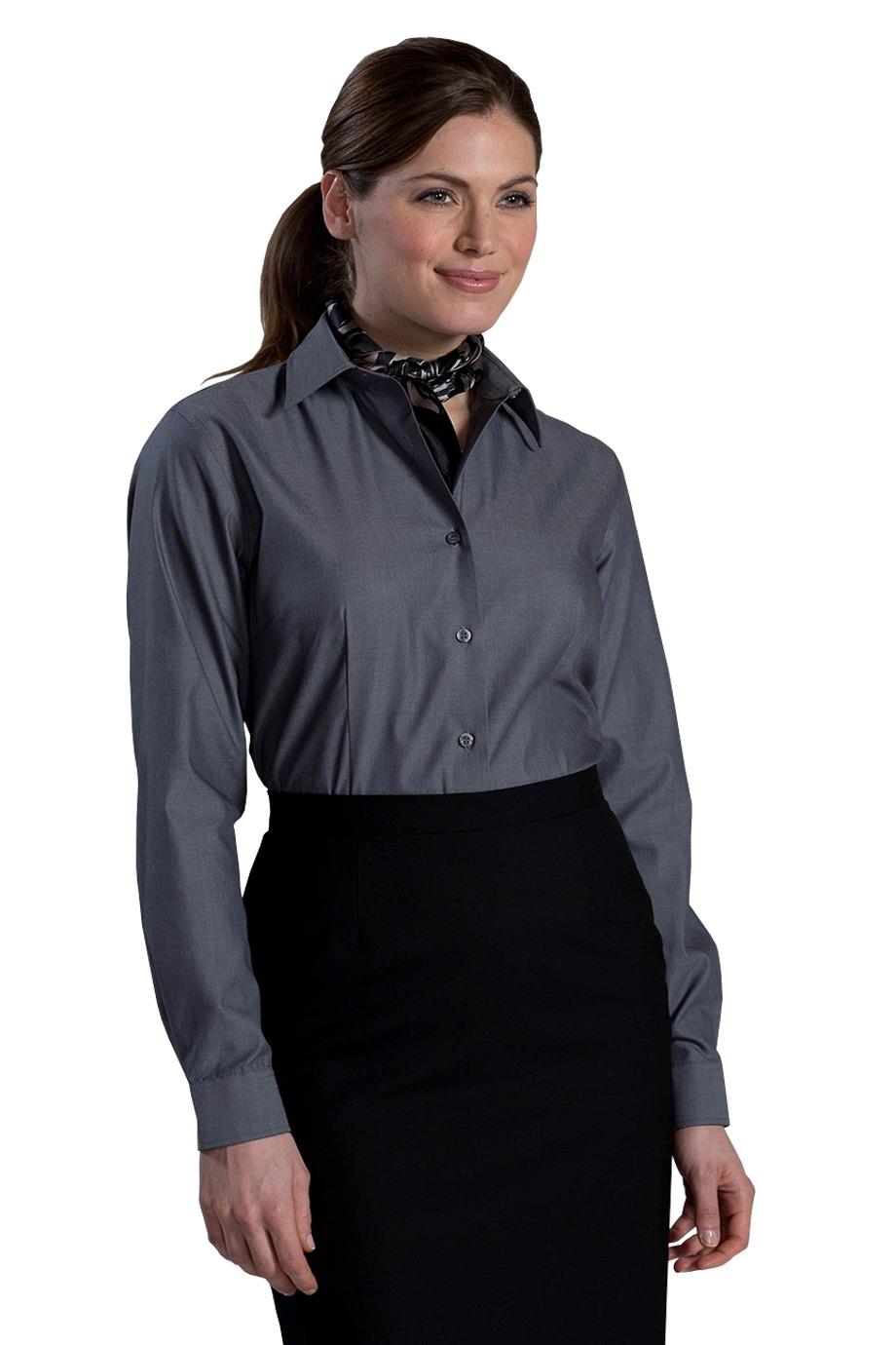 Edwards Garment 5978 - Women's No-Iron Stay Collar Dress Shirt