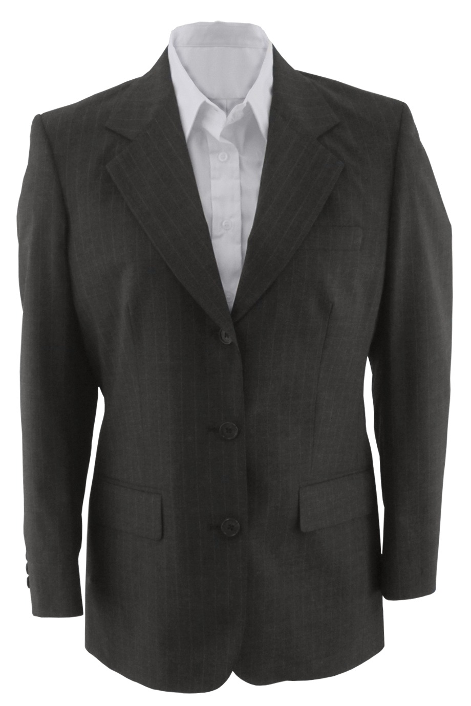 Edwards Garment 6660 - Women's Pinstripe Wool Blend ...