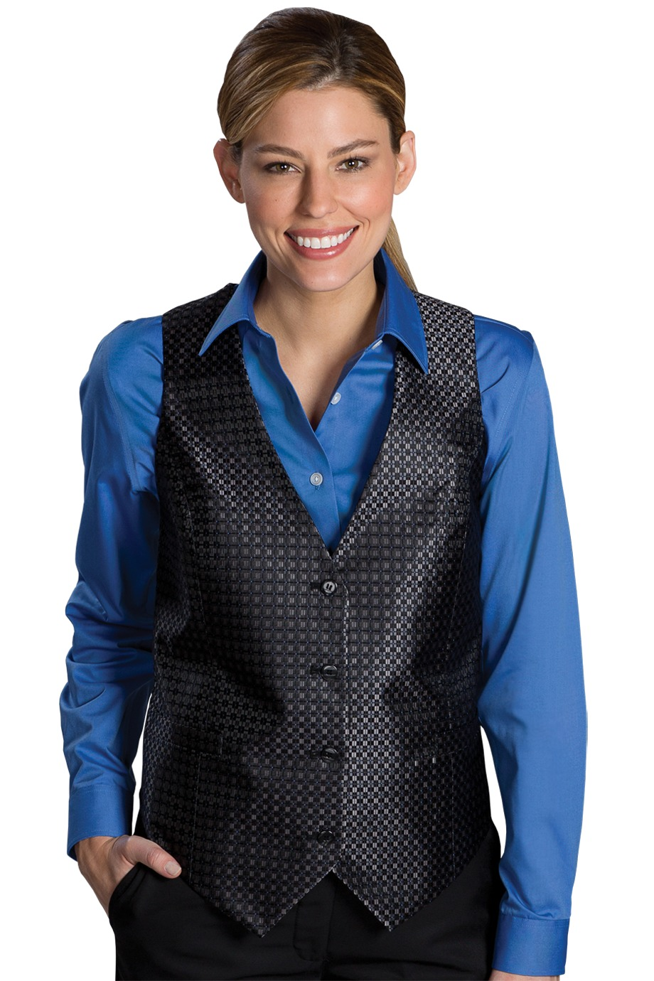 Edwards Garment 7396 - Ladies Grid Vest