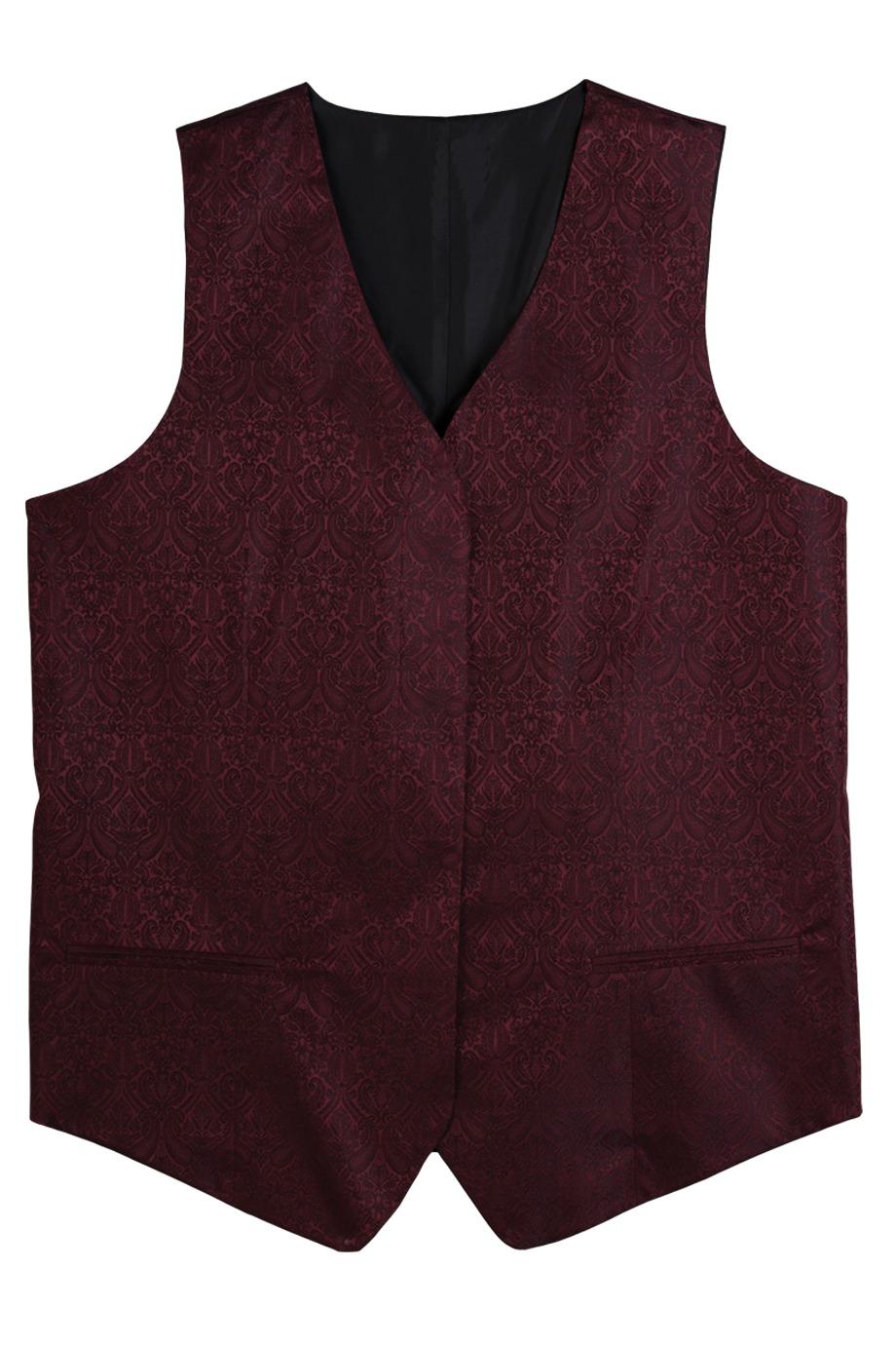 Edwards Garment 7491 - Women's Fly Front Paisley Vest
