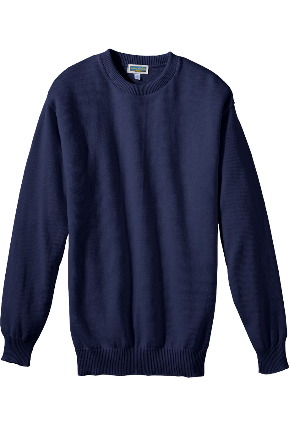 Edwards Garment 786 - Jersey Stitch Crew Neck Sweater