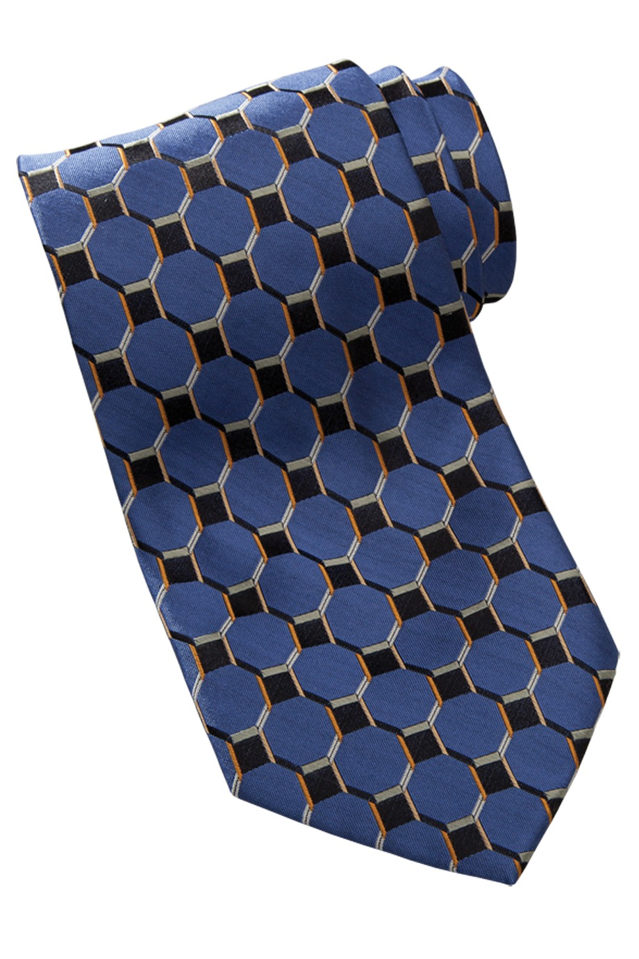 Edwards Garment HC00 - Signature Silk Honeycomb Tie