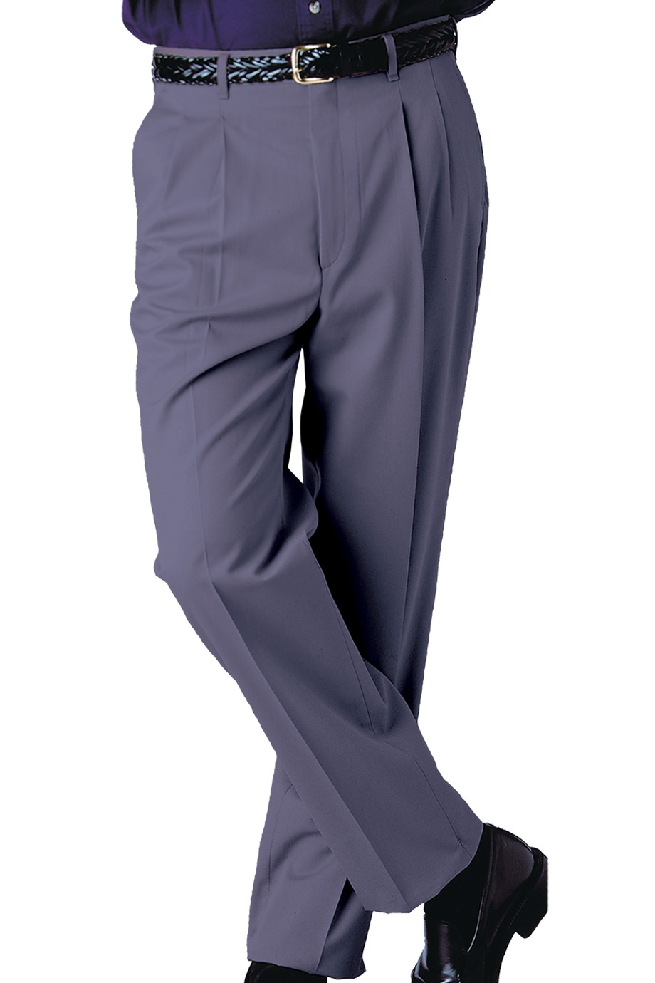 c9face5225b Edwards Garment 2610 - Men s Business Casual Pleated Pant  25.28 ...