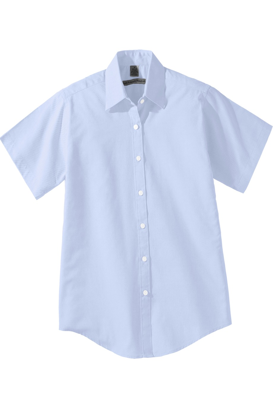 Edwards Garment 5925 - Women's Short Sleeve Pinpoint Oxford Shirt