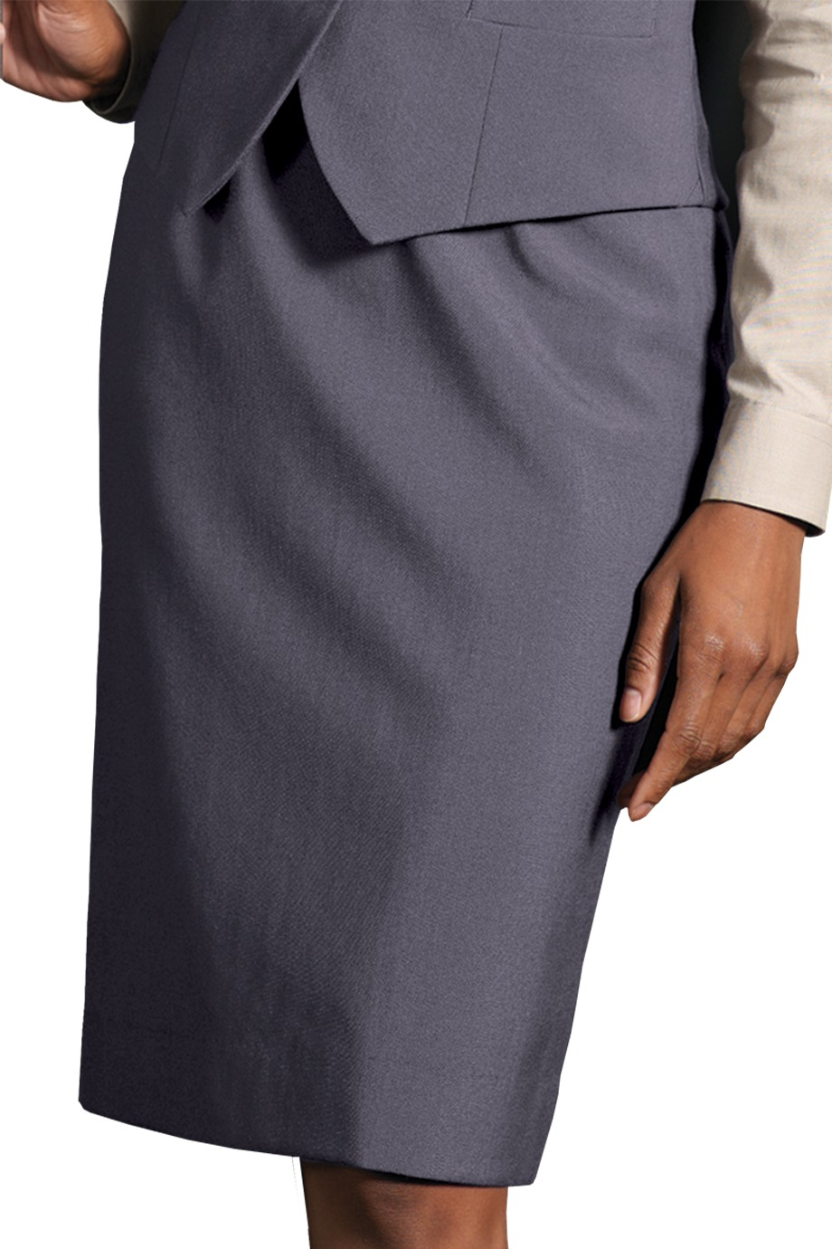 Edwards Garment 9789 - Women's Wool Blend Dress Skirt