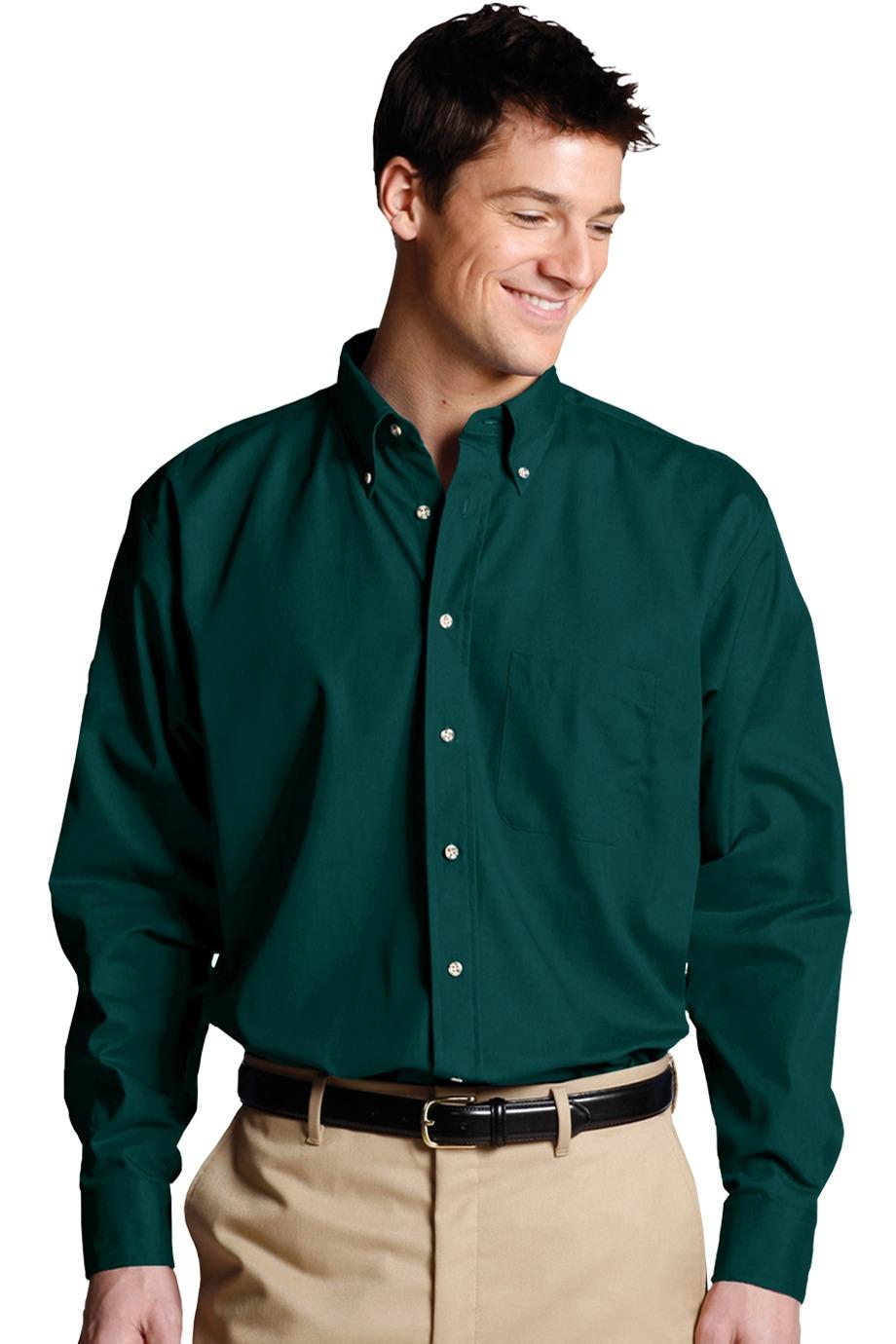 Edwards Garment 1280 - Men's Easy Care Poplin Shirt