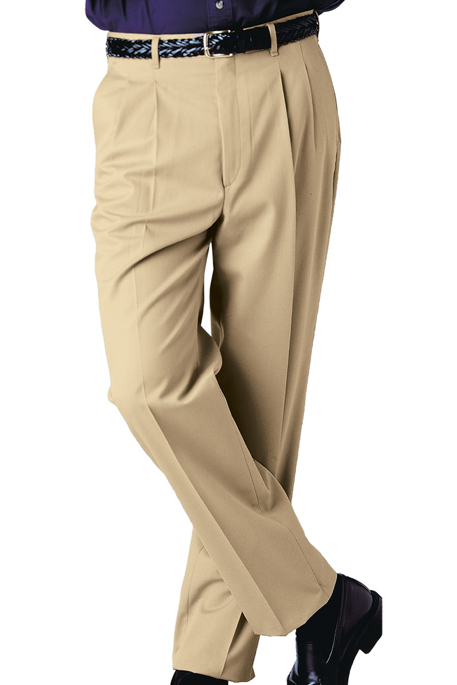 76dbc94719b Edwards Garment 2610 - Men s Business Casual Pleated Pant  25.28 ...