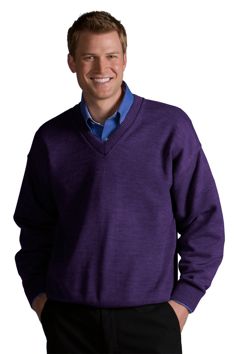 Edwards Garment 565 - V-Neck Sweater