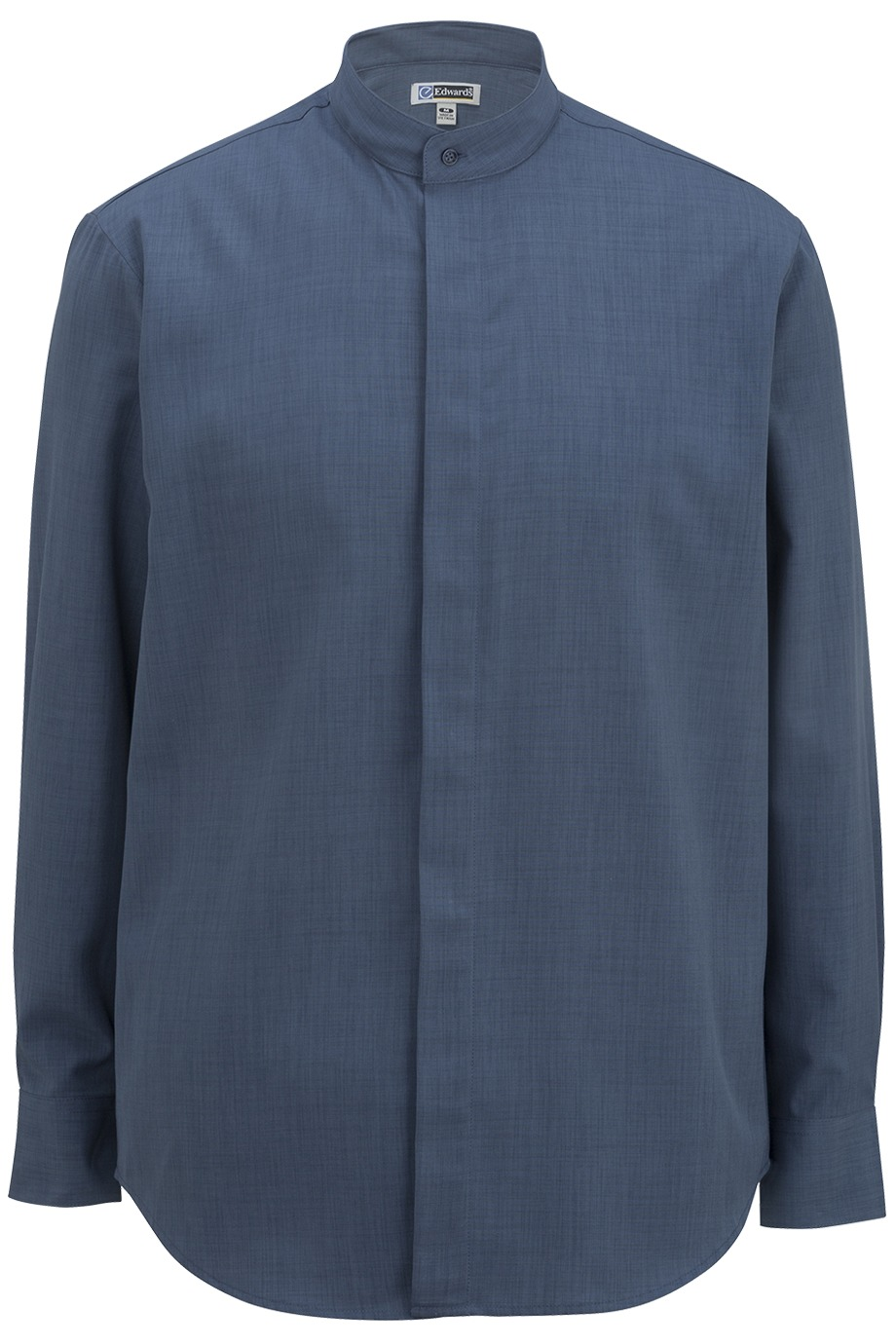 Edwards Garment 1392 - Batiste Banded Collar Shirt