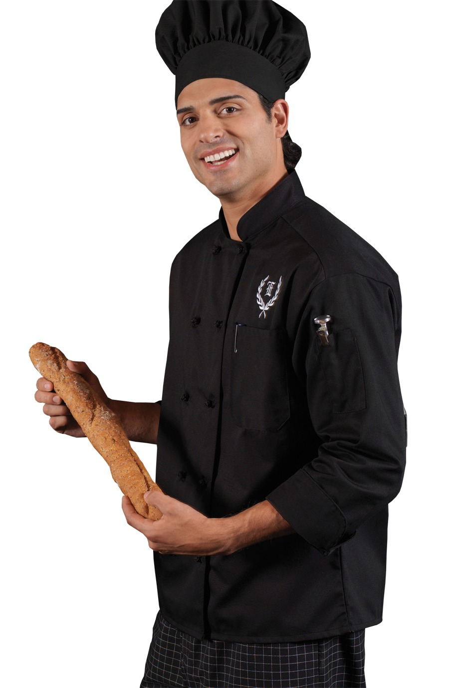 Edwards Garment 3302 - Classic 10 Knot Button Chef Coat