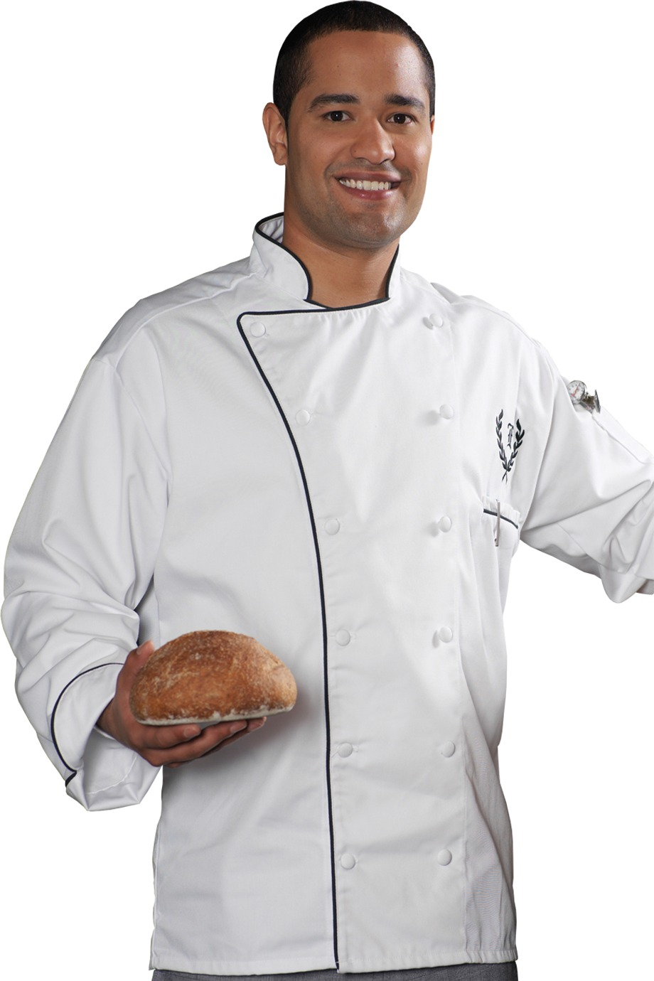 Edwards Garment 3308 - Executive 12 Cloth Button Chef ...
