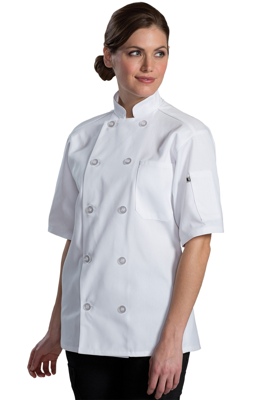 Edwards Garment 3333 - Ten Button Chef Coat With Back ...