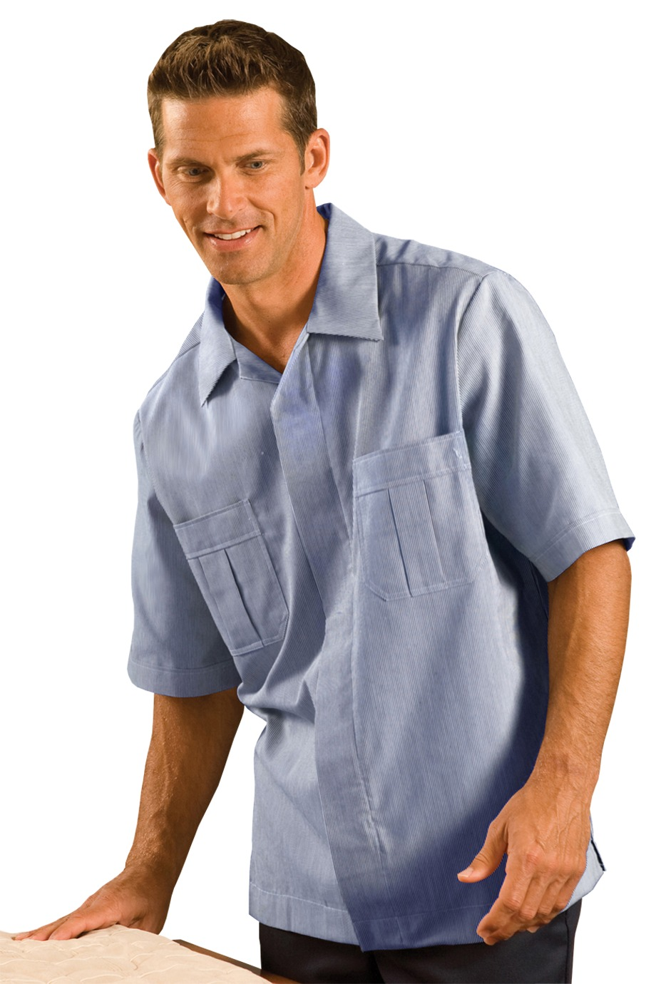 Edwards Garment 4275 - Men's Junior Cord Service Shirt
