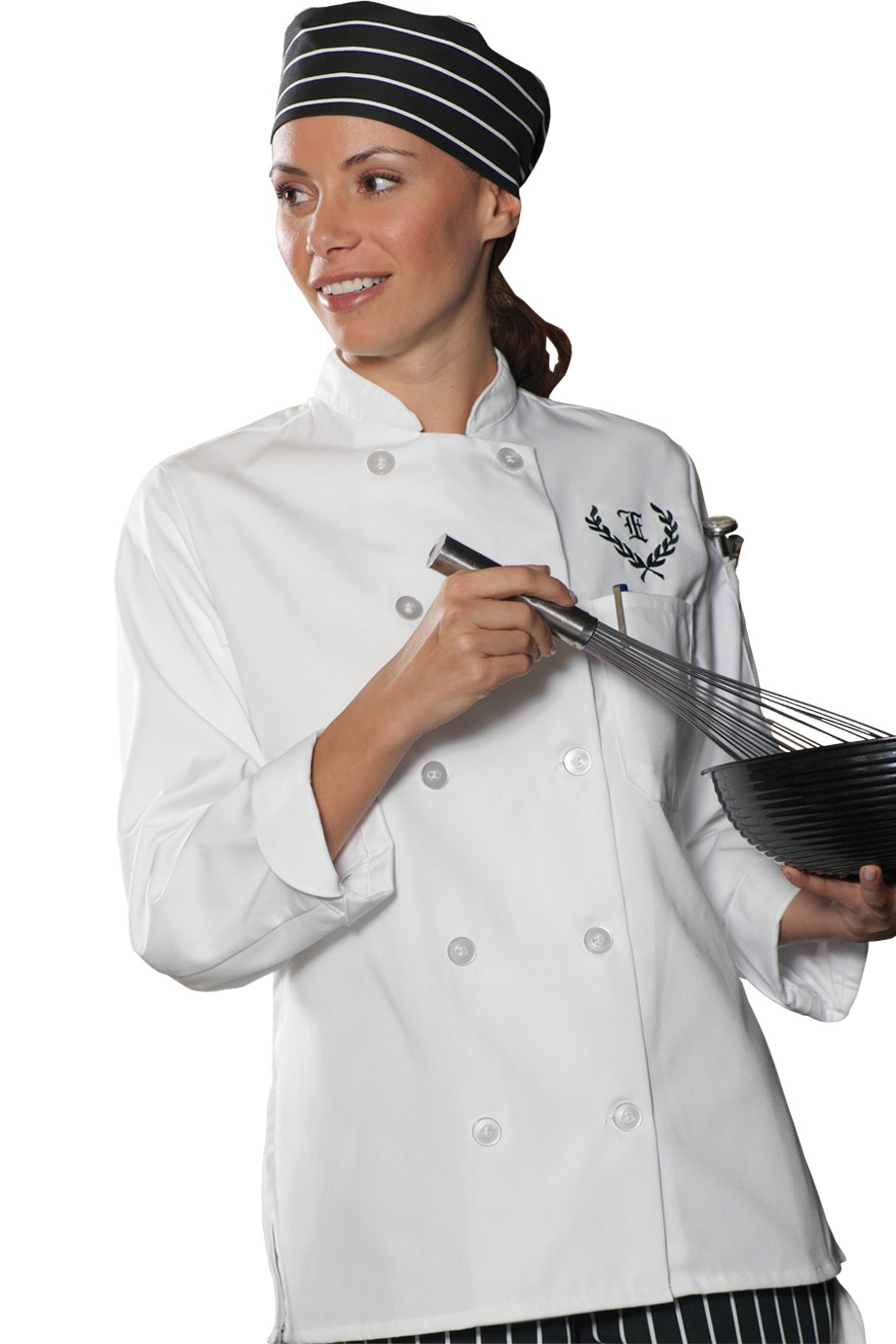 Edwards Garment 6301 - Women's Casual 10 Button Chef ...
