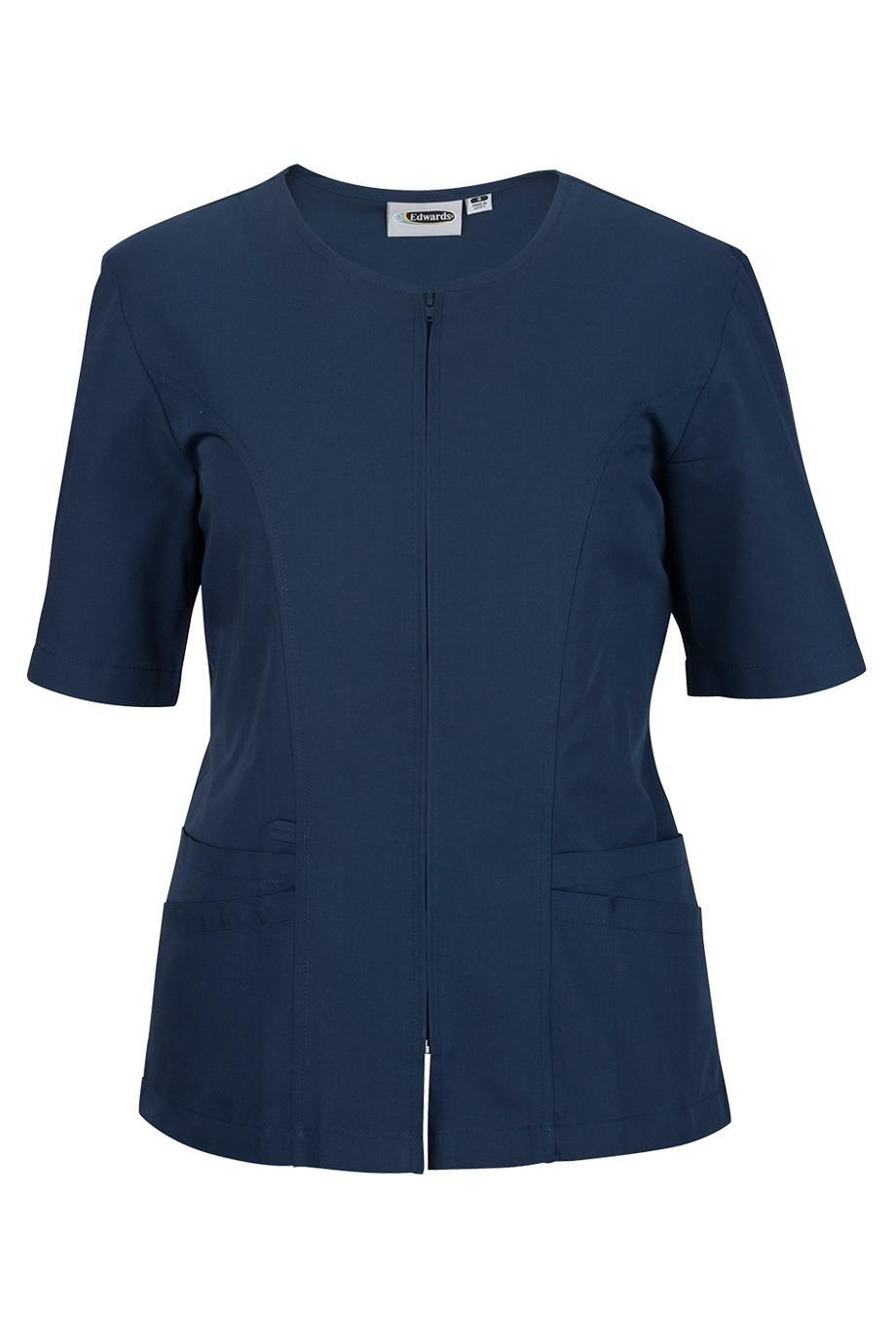 Edwards Garment 7887 - Housekeeping Zip Tunic