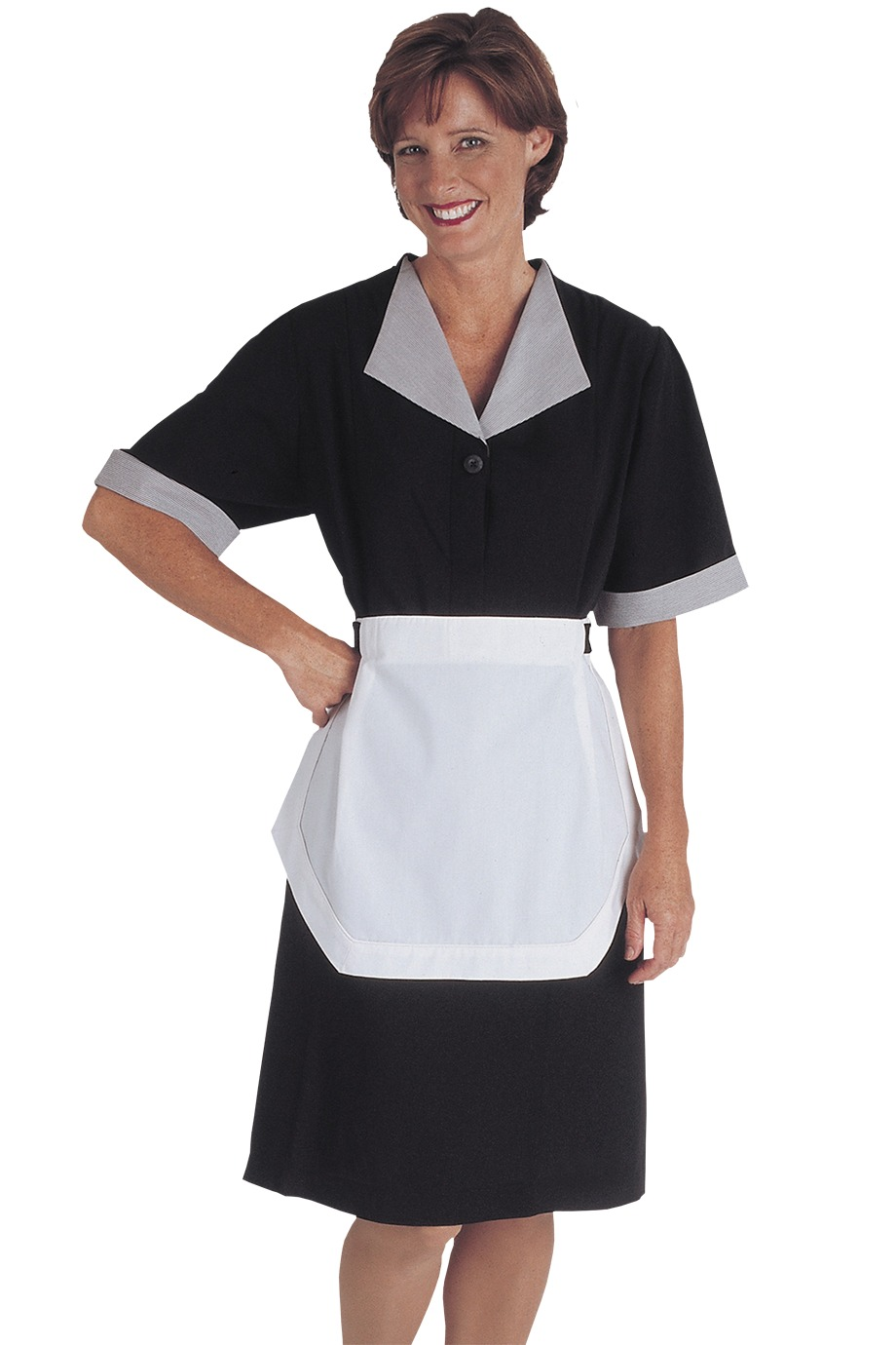 Edwards Garment 9896 - Women's Spun Polyester Housekeeping ...