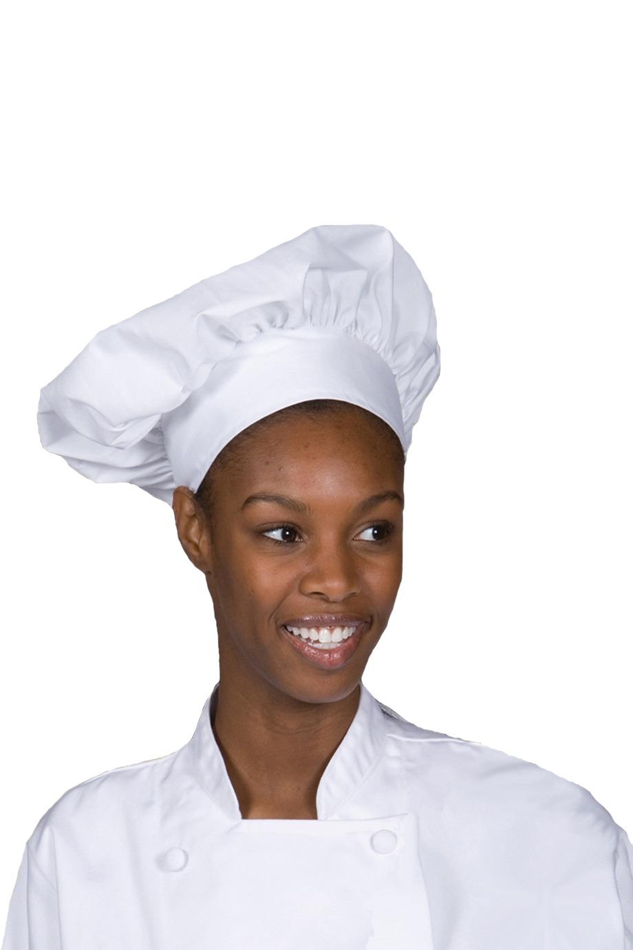 Edwards Garment HT00 府绸主厨帽子