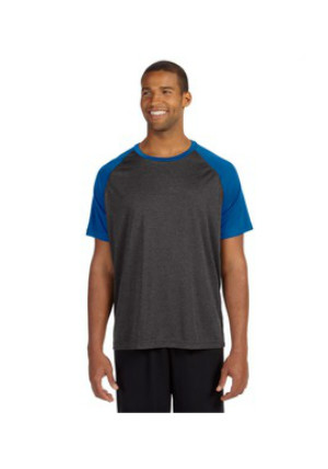 Alo M1029 - Performance Short-Sleeve Raglan T-Shirt