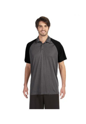 Alo M1829 - Performance Three-Button Raglan Polo