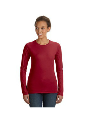 Anvil 374L - Junior Fit Ringspun Long-Sleeve T-Shirt