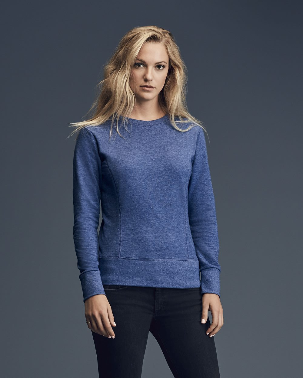 Anvil 72000L - Ringspun French Terry Mid-Scoop Sweatshirt