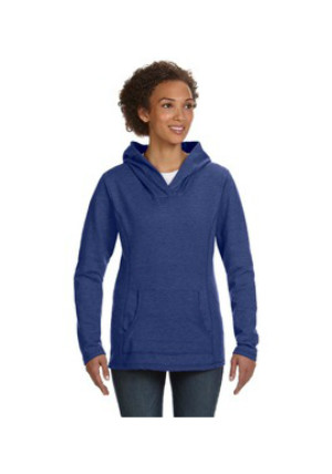 Anvil 72500L - Ringspun French Terry Crossneck Hooded Sweatshirt