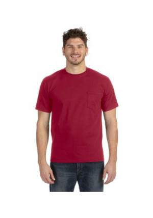 Anvil 783AN - Heavyweight Ringspun Pocket T-Shirt