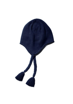 Big Accessories BX027 - Knit Earflap Beanie