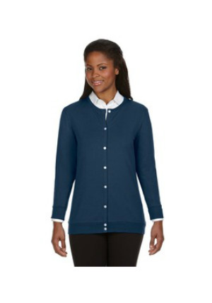 Devon & Jones DP181W - Perfect Fit™ Ribbon Cardigan