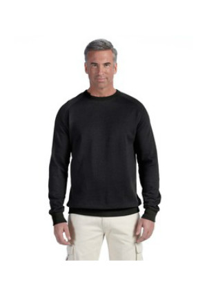 Econscious EC5050 - 7 oz. Organic/Recycled Heathered Fleece Raglan Crew