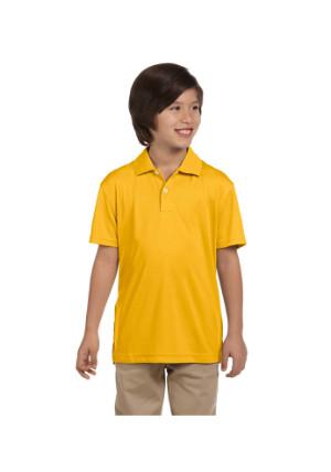 Harriton M353Y 双层网眼运动衬衣T恤