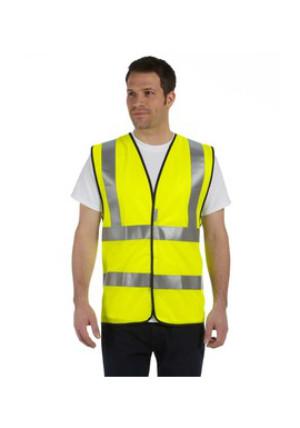 OccuNomix LUXSSF - Premium Solid Dual Stripe Vest, Class ...