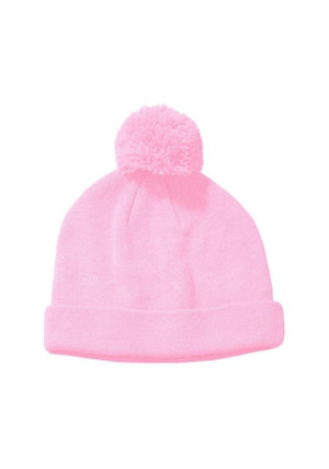 Big Accessories BX028 - Knit Pom Beanie